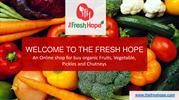 Buy online vegetables, fruits, Exotic items in Chandigarh