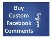 Buy Facebook Custom Comments – High Engagement