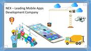 NEX - Top-notch mobile application development Company in India