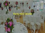 Party Hire World – Make Your Kids Birthday Extra Special