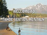 Vacation Rentals Lake Tahoe South