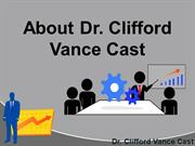 Dr. Clifford Vance Cast Holds A Ph.D in What Exactly?