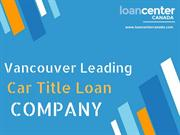 Short in Cash – Go With car title loans in Vancouver