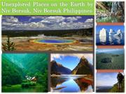 5 Awesome Unexplored Places on the Earth by Niv Borsuk