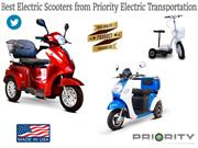 Best Electric Scooters from Priority Electric Transportation