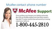 1-800-445-2810 Mcafee contact phone number mcafee phone number