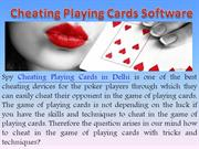 Cheating Playing Cards Dealers in Delhi