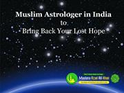 Famous Muslim Astrologer India Get Back Your Lost Hope
