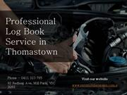 Reliable Log Book Service in Thomastown