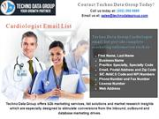 Cardiologist Email List  Cardiologist Mailing list