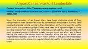Incredibly Useful Car service Fort Lauderdale Tips for Small Businesse
