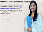 Online Shopping Site For Medical Products