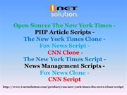 Open Source The New York Times - CNN Clone - PHP Article Scripts - The