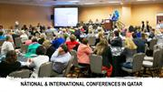 NATIONAL & INTERNATIONAL CONFERENCES IN QATAR