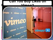 Can You Buy Likes on Vimeo
