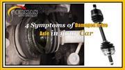 Symptoms of Damaged Drive Axle in your Car