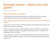 Business owners – what is your end game - Success Accounting Group