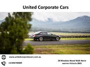 Luxury Airport Transfers in Canberra with United Corporate Cars