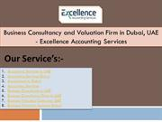 Business Consultancy and Valuation Firm in Dubai, UAE - Excellence Acc