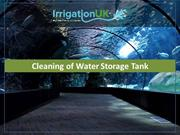Cleaning of Water Storage Tank