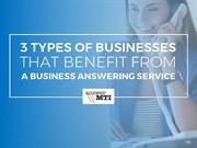 3 Types Of Businesses That Benefit From A Business Answering Service