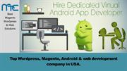 Hire best android Developer_MTC