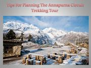 Tips For Planning The Annapurna Circuit Trekking Tour