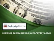 Claiming Compensation from Payday Loans
