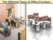 The Different Types of Office Furniture