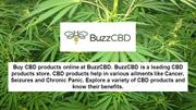 Different Forms of CBD - BuzzCBD