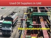 Waste Oil Collection Dubai