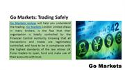 Go Markets: Trading Safely