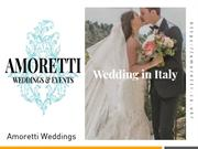 Best Wedding Events Italy – Collected Top Wedding Venues Italy