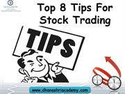 Top 10 Tips For Stock Trading In India |Stock Market Tips