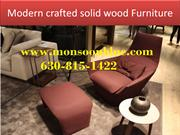 Modern crafted solid wood Furniture-converted