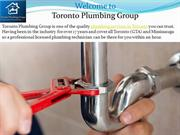 Emergency plumbing services toronto