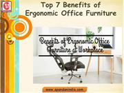 Benefits of Ergonomic Office Furniture | Ergonomic Office Desk, Chair