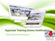 Become a hypnotherapist   Hypnosis Training Online Certification