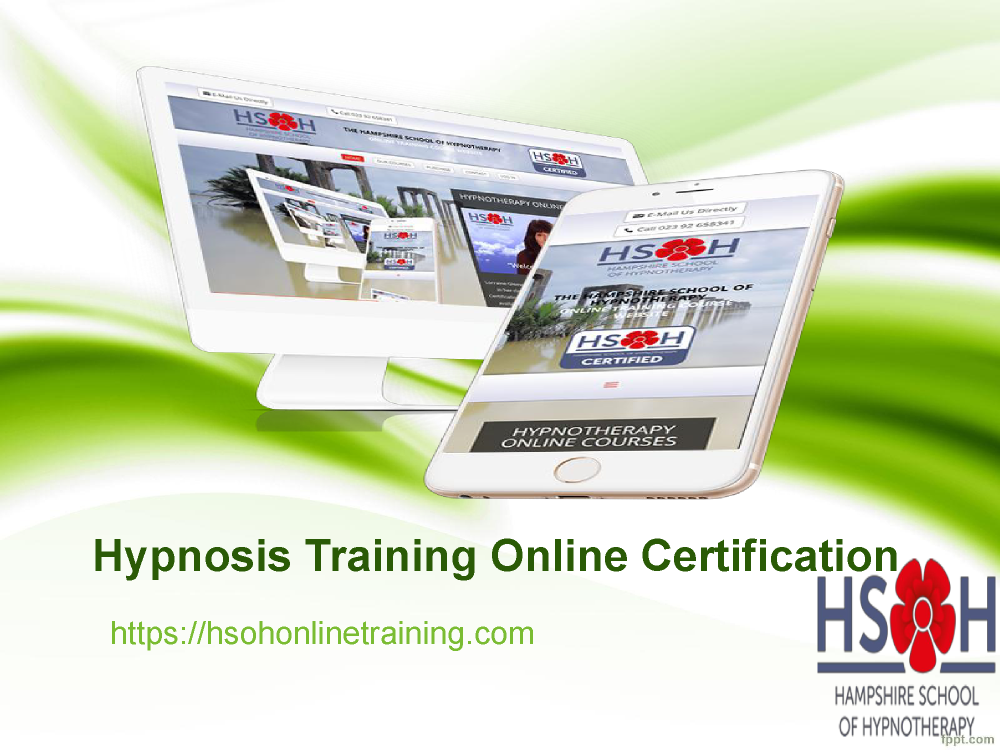 Become a Hypnotherapist | Hypnosis Training Online ...