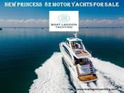 New Princess 82 motor yachts for sale