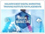 Kolkata's Best Digital Marketing Training Institute for Placements