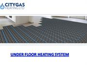 Get services of Radiant Floor Heating Systems and Under Floor Heating