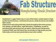 Tensile Structure In Gurgaon