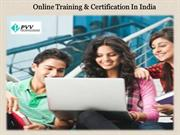 Online Training & Certification In India