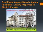 Real Estate Agency Munich Agency in Munich - Luxury Properties in Muni