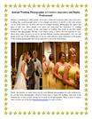 Raleigh Wedding Photographer is Creative, innovative and Highly Profes