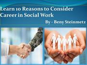 Know About Beny Steinmetz and His Career in Social Work
