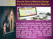 Why You Should Hire A Website Design Company