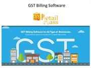 POS Billing Software with GST Features by Retail Mass