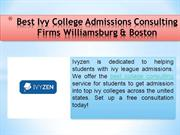 College Consulting Firms Williamsburg